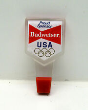 Budweiser Olympic Beer Tap Handle Bar Pub Game Room Man Cave