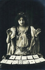 Vintage Photography Framed Print – Victorian Freak Show Fortune Teller (Picture)