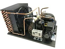 New Outdoor Condensing Unit 1 Hp Low Temp R404a 115v Embraco Nt2180gkv1