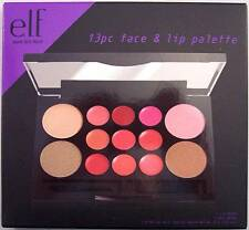 NIB NEW e.l.f. 13 Pc. Face & Lip Palette (Lip Color, Blush & Bronzer)