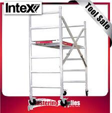 Intex Scaffold Folding Industrial Rated Aluminium 225kg SPA100