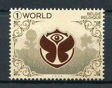 Belgium 2018 MNH Tomorrowland Festival 1v Set Festivals Cultures Stamps