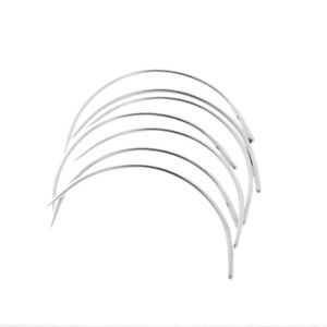 50pcs C Curved Needles Hand Sewing Needle for Household Mattress Upholstery