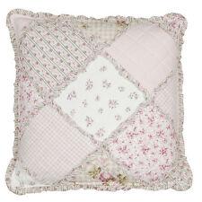 Clayre & Eef Dekokissen mit Patchwork-Muster aus Baumwollmischung