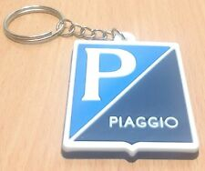 NEW VESPA PIAGGIO MOTORCYCLE KEYCHAIN KEYRING RUBBER FOR UNISEX WITH CHARM RU104