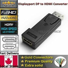 Display Port/DP to HDMI Male Female Adapter Converter Plug Connection For HDTV