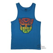 Transformers Autobot Vintage Symbol Adult Tank Top