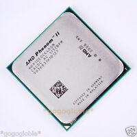 Working AMD Phenom II X4 910e 2.6 GHz HD910EOCK4DGM CPU Processor Socket AM3