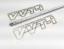 Toyota Racing Development VVTI Corolla S JDM Vinyl Decals Sticker Set E170 E140