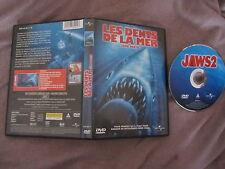 Les dents de la mer 2ème partie de Jeannot Szwarc (Roy Scheider), DVD, Horreur