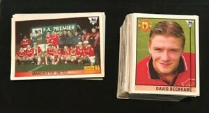 David Beckham #40 Rookie & 180+ Merlin Premier League 1996 Stickers