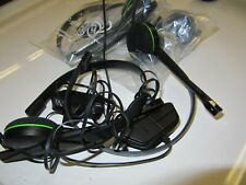 4 X  Microsoft Xbox One 1564 Wired Gaming Chat Headset Audio