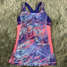 Ivivva Lululemon Girls Size 10 Cool Condition Tank Pink Purple Youth Athletic