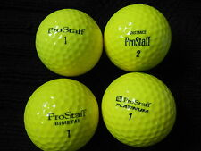 "20  WILSON  ""PRO-STAFF YELLOW"" - MIXED  MODELS - Golf Balls - ""PEARL/A"" Grades."