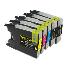 5 NON-OEM INK CARTRIDGE BROTHER LC-75 LC-71 MFC-J280W	MFC-J425W MFC-J430W BKCMY