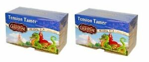 Celestial Seasonings Tension Tamer Tea 2 Box Pack
