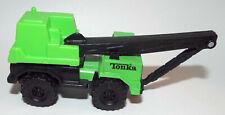 Tonka Die Cast Truck Crane in Green