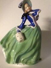 """Vintage Royal Doulton Collectible """"Autumn Breezes"""" Figurine Made In England"""