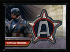 CAPTAIN AMERICA UD MARVEL CAPTAIN AMERICA THE FIRST AVENGER PATCH #I-2 AX887