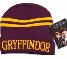 Harry Potter Gryffindor Red & Gold Hat Beanie Unisex 20cm US Seller