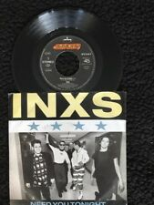 "INXS - Need You Tonight / Move On 7"" Vinyl Netherlands Mercury 888 813-7 (1987)"