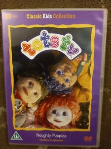 TOTS TV NAUGHTY PUPPIES DVD KIDS