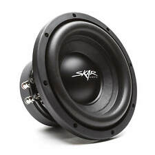 "SKAR AUDIO SDR-8 D2 8"" 700 WATT MAX POWER DUAL 2 OHM CAR SUBWOOFER"