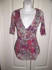 ANTHROPOLOGIE WESTON WEAR WESTONWEAR Multi Print Shirt Small