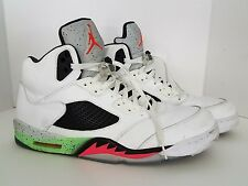 Nike Air Jordan V 5 Retro SPACE JAM PRO STARS WHITE INFRARED POISON GREEN 15