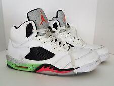 Nike Air Jordan V 5 Retro SPACE JAM PRO STARS WHITE INFRARED POISON GREEN 15