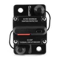 Car Auto Audio Marine Boat Audio Circuit Breaker DC 12V/24V/42V (50Amp)