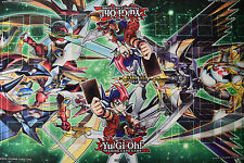 "Yu-gi-oh! Yugioh Official Konami 4 Player Table Playmat 5' x 27"" NEW"