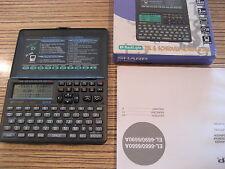 Sharp Datenbank  Taschenrechner  EL 6600A . neuwertig. Display zeigt nicht voll