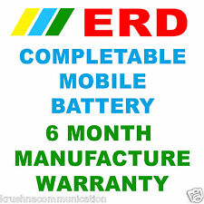 ERD High Capacity Li-ion Compatible Mobile Battery Nokia 5800XM,C3,X1,X6,5230Xm