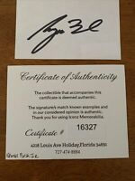 President George Bush Jr Hand Signed Autographed Index Card W/COA