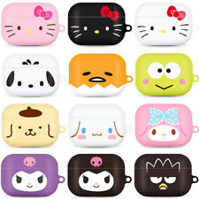 Genuine Hello Kitty Friends Big Face AirPods Pro Hard Case made in Korea