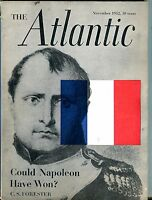 The Atlantic Magazine November 1952 Napolean GD 043017nonjhe