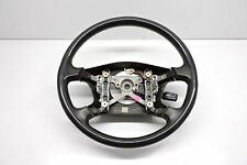 2001-2002 Toyota 4Runner LH Driver Steering Wheel Black W/O Leather Wrap OEM