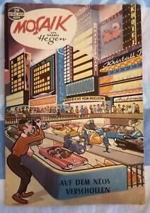 Mosaik Nr. 29  Digedags  von Hannes Hegen April 1959 Original