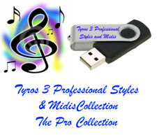 Yamaha Tyros 3 Professional Styles and midis New !!!Look!!!