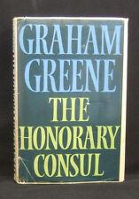 Graham Greene  The Honorary Consul   1st UK Edt  H/C D/J 1973 Bodley Head