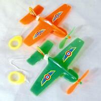 12 AIRPLANES ON STRING swing airplane novelty plane toy plastic planes boys toys