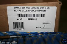 8mm X 50 Feet Teufelberger New England Accesory cord rope Blue color