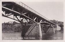 * ARGENTINA - Sierras de Cordoba, Cosquin, Puente Nacional 1955