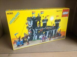 MISB Sealed New Lego Vintage 1988 Classic Knight Black Monarch Castle 6085 NIB