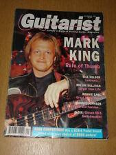 GUITARIST 1991 SEPTEMBER MARK KING BILL NELSON BOSS