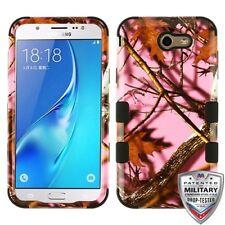 Pink Oak-Hunting Camouflage Black SAMSUNG J727 Galaxy J7 2017 I8520 Ga