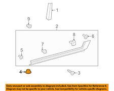 TOYOTA OEM Exterior-Rocker Panel Molding Retainer 7692402010