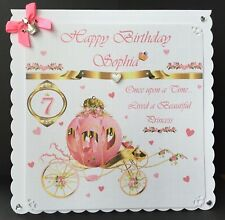 Girls Birthday Card, Daughter, Granddaughter, Sister, Niece, Any Age 1st Birhday