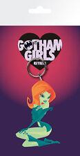 DC COMICS POISON IVY GOTHAM GIRLS RUBBER KEYRING NEW OFFICIAL MERCHANDISE